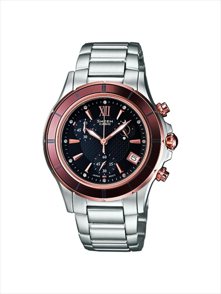 Casio Sheen Ladies Chronograph Wrist Watch