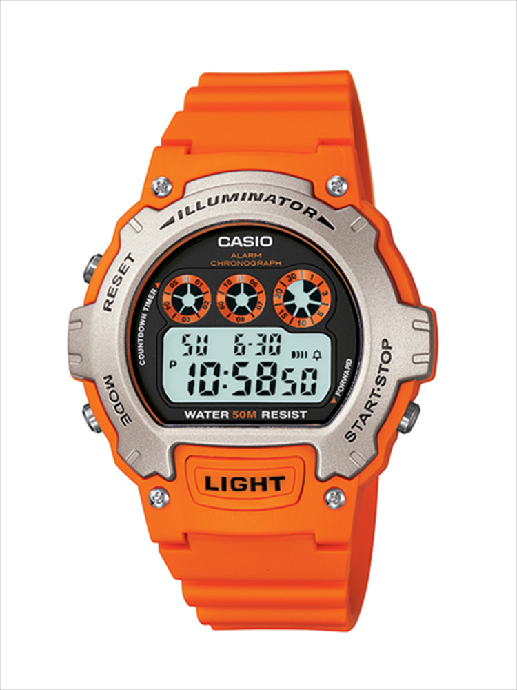 Casio Unisex Orange Sports Wrist Watch