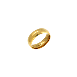 9ct Yellow Gold Heavy Court Wedding Ring