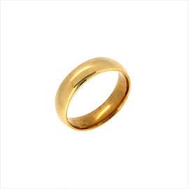 9ct Yellow Gold Size Y Wedding Ring