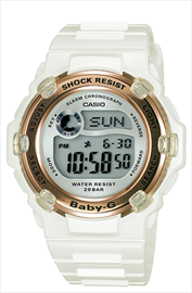 Casio Baby-G Ladies Alarm Wrist Watch