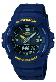 Casio G-Shock Blue Men