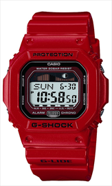 Casio G-Shock G-Lide Red Men