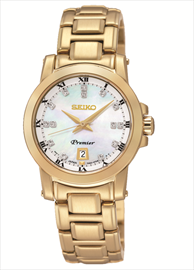 Seiko Premier Ladies Dress Wrist Watch