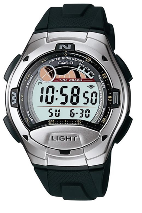 Casio Sports Alarm Black Men