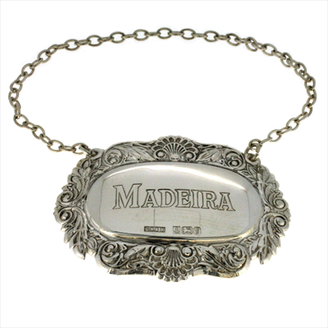 Silver Second-hand Madeira Tag. Weight 12.1g